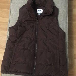 Brown Old Navy Vest